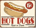 Schonberg - Hot Dog tin signs