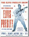 Elvis Presley Show tin signs