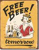 Moore - Free Beer tin signs