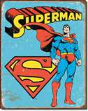 Superman - Retro tin signs