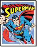 Superman - Retro Panels tin signs