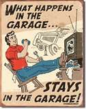 Schonberg - Happens in Garage tin signs