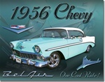 Chevy 1956 Bel Air Tin Signs
