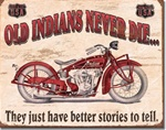 Indian - Better Stories Tin Signs