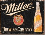 Miller Brewing Vintage Tin Signs
