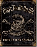 DTOM - Proud American Tin Signs