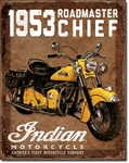1953 Indian RoadmasterTin Signs