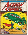 Action Comics No 1 Cover Tin Signs