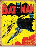 Batman No 1 Cover Tin Signs