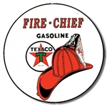 Texaco/Fire Chief tin signs