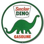 Sinclair Dino Gasoline tin signs