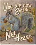 Entering Nut House