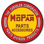 Mopar tin signs