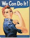 ROSIE THE RIVETOR tin signs