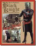 Black Knight Security tin signs