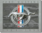 Mustang - 35th Anniversary tin signs