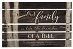 Pallet Sign Décor - Our Family