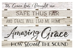 Pallet Sign Décor - Amazing Grace