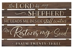 Pallet Sign Décor - The Lord Is My Shepherd