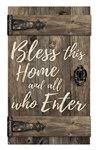 Barn Door - Bless this home