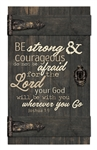 Barn Door - Be strong & courageous