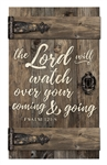 Barn Door -  The Lord will watch over