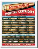 Remington Cartridges tin signs