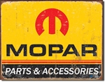 Mopar Logo '64 - '71 tin signs