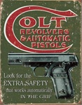 Colt - Extra Safety Tin Signs