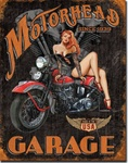 Legends - Motorhead Garage Tin Signs