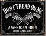 DTOM - American Iron Tin Signs