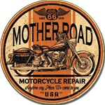 Mother Road Repair Tin Signs