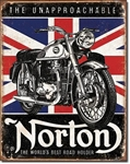 Norton - Best RoadholderTin Signs